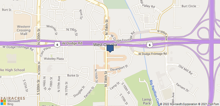 411 N 114th Street Omaha, NE, 68154 Map
