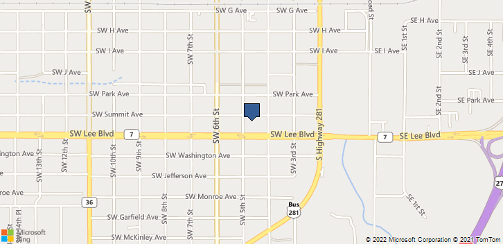 412 Sw Summit Ave Lawton, OK, 73501 Map