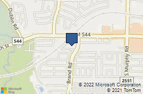 Bing Map of 412 Village Dr Ste 100 Murphy, TX 75094