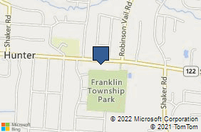 Bing Map of 4169 State Route 122 Franklin, OH 45005