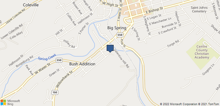 420 Holmes St Bellefonte, PA, 16823 Map