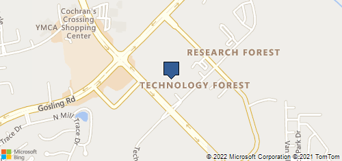 Bing Map of 4200 Research Forest Dr # 90 The Woodlands, TX 77381