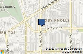 Bing Map of 4202 Atlantic Ave Ste 201 Long Beach, CA 90807
