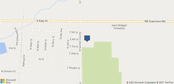 421 N Section Line Rd  Scammon, KS, 66773 Map