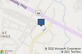 Bing Map of 4229 Lafayette Ctr Dr Ste 1675 Chantilly, VA 20151
