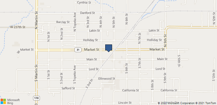 425 Market St Osage City, KS, 66523 Map