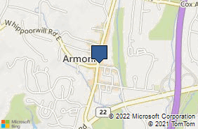 Bing Map of 428a Main St Armonk, NY 10504