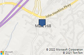 Bing Map of 430 Emery Dr Hoover, AL 35244