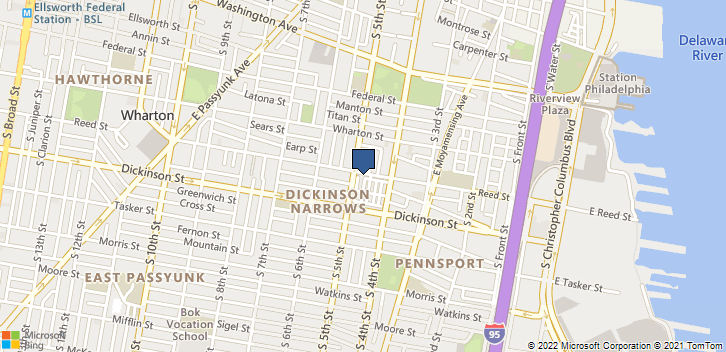430 Reed Street Philadelphia, PA, 19147 Map