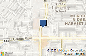 Bing Map of 4300 N Josey Ln Ste 102 Carrollton, TX 75010