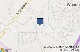 Bing Map of 4305 S Lee St Ste 400 Buford, GA 30518