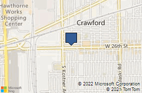 Bing Map of 4344 W 26th St Chicago, IL 60623