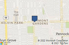 Bing Map of 4357 W Diversey Ave Chicago, IL 60639