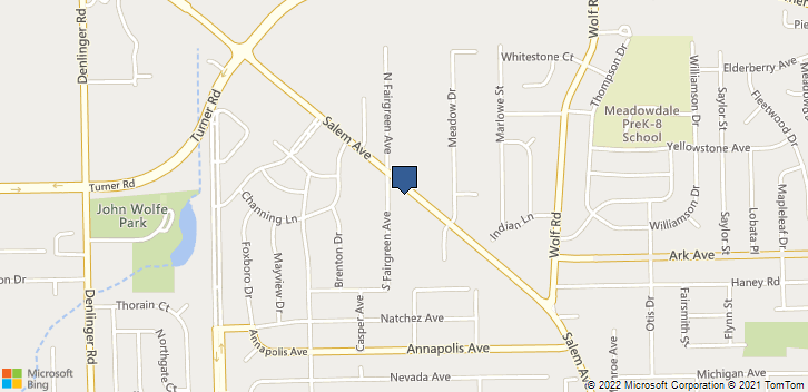 4380 Salem Ave Dayton, OH, 45416 Map