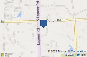 Bing Map of 4385 Interpark Dr Auburn Hills, MI 48326