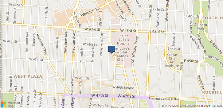4400 Broadway St Kansas City, MO, 64111 Map