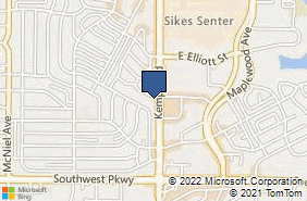 Bing Map of 4410 Kemp Blvd Ste C Wichita Falls, TX 76308