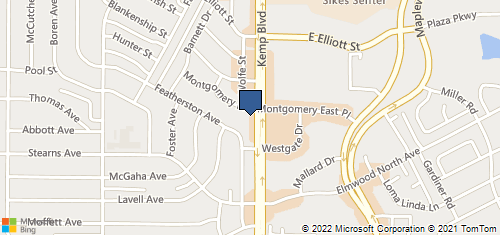 Bing Map of 4410 Kemp Blvd Ste C Wichita Falls, TX 76308