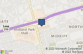 Bing Map of 4410 N Midkiff Rd Ste A5 Midland, TX 79705