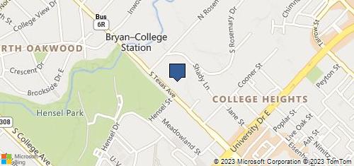 Bing Map of 4415 S Texas Ave Bryan, TX 77802