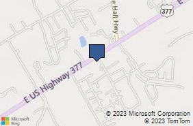 Bing Map of 4425 E Hwy 377 # 109 Granbury, TX 76049