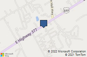 Bing Map of 4425 E Us Highway 377 Granbury, TX 76049