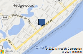 Bing Map of 444 2nd Ave Gallipolis, OH 45631