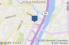 Bing Map of 447 2nd St Manchester, NH 03102