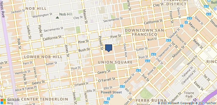 450 Sutter St Rm 1130 San Francisco, CA, 94108 Map
