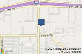 Bing Map of 4519 Matlock Rd Ste 131 Arlington, TX 76018