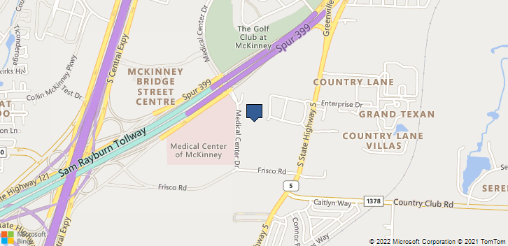 4521 Medical Ctr Dr Mckinney, TX, 75069 Map