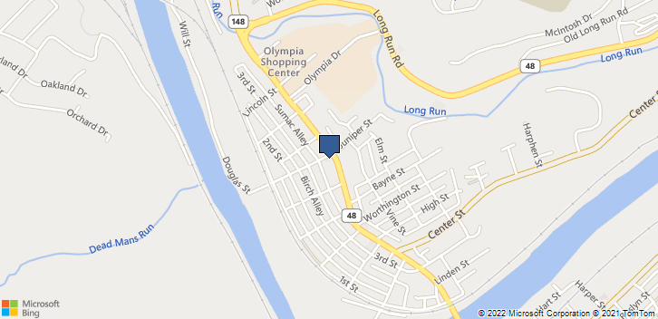 4600 Walnut St McKeesport, PA, 15132 Map