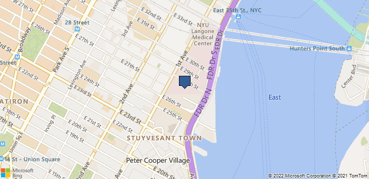 462 1st Ave New York, NY, 10016 Map