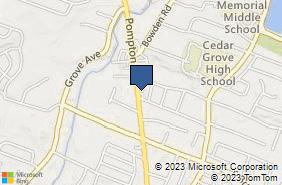 Bing Map of 471 Pompton Ave Cedar Grove, NJ 07009