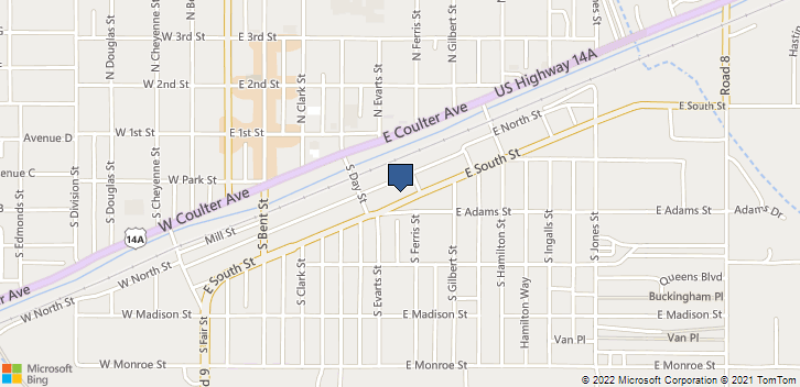 473 E South St  Powell, WY, 82435 Map