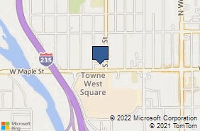 Bing Map of 4800 W Maple St Ste 116 Wichita, KS 67209