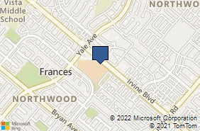 Bing Map of 4860 Irvine Blvd Ste 206 Irvine, CA 92620