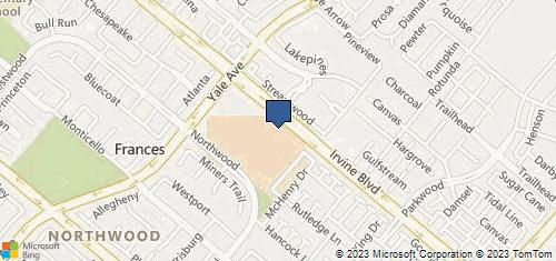 Bing Map of 4860 Irvine Blvd Ste 206 Irvine, CA 92620