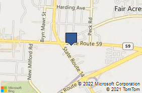 Bing Map of 4886 Route 59 Ste B Ravenna, OH 44266