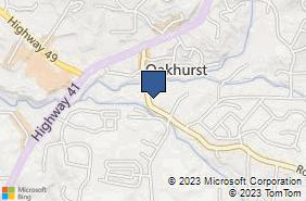 Bing Map of 49185 Road 426 Ste 3 Oakhurst, CA 93644