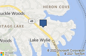 Bing Map of 5 Executive Ct Ste 102 Lake Wylie, SC 29710