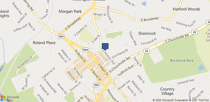 5 S Hickory Ave Bel Air, MD, 21014 Map