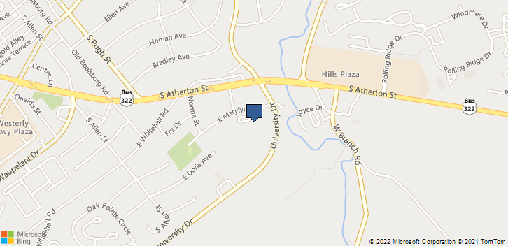 500 E Marylyn Ave State College, PA, 16801 Map