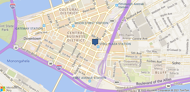 500 Grant St Pittsburgh, PA, 15219 Map