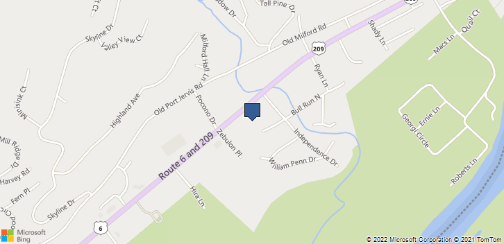 500 Route 6 And 209 Milford, PA, 18337 Map