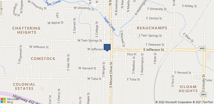 500 S Mt Olive St, 107 Siloam Springs, AR, 72761 Map