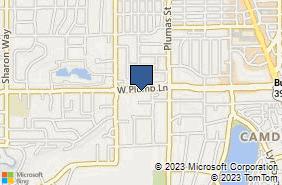 Bing Map of 500 W Plumb Ln Ste B Reno, NV 89509