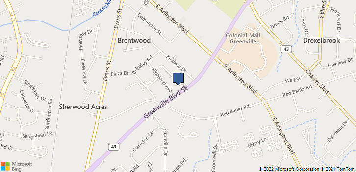 505 Greenville Blvd Se Greenville, NC, 27858 Map