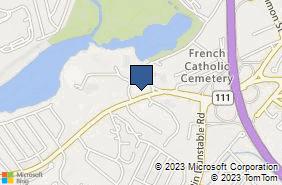 Bing Map of 505 W Hollis St Ste 204 Nashua, NH 03062