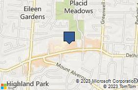 Bing Map of 5062 Delhi Ave Cincinnati, OH 45238